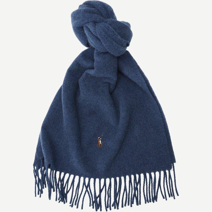 Wool Scarf - Tørklæder - Blå
