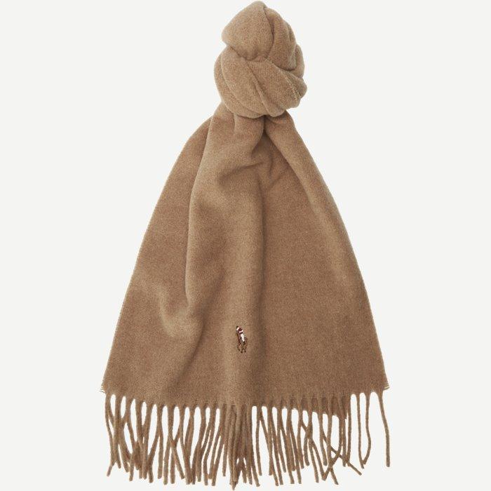 Wool Scarf - Tørklæder - Brun