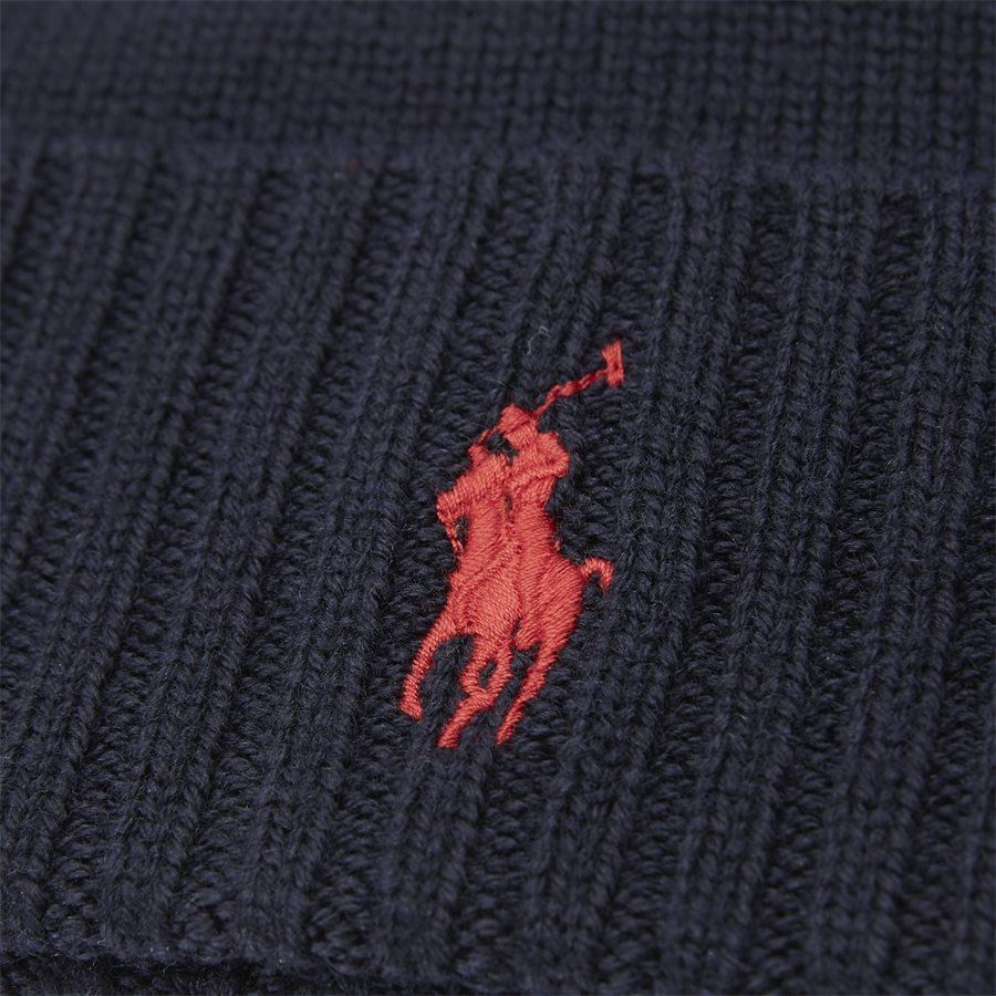 710719819 - Logo Wool Beanie - Caps - NAVY - 2