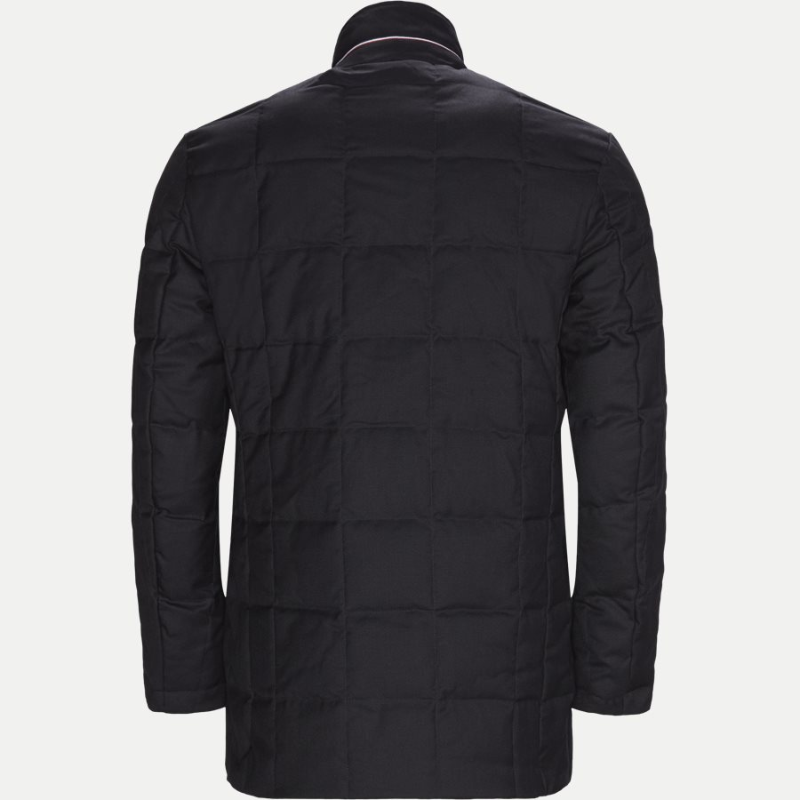 QUILTED DOWN COAT - Quilted Down Coat - Jakker - Tailored fit - NAVY - 2
