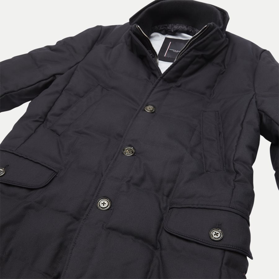 QUILTED DOWN COAT - Quilted Down Coat - Jakker - Tailored fit - NAVY - 5