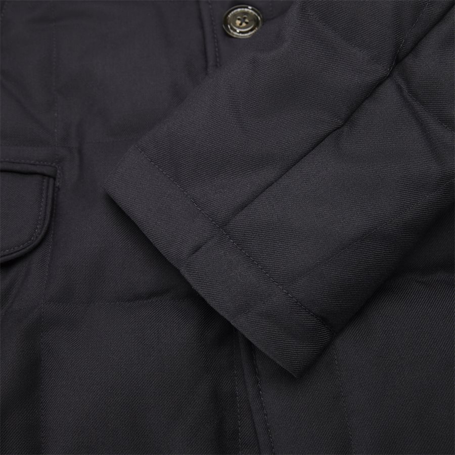 QUILTED DOWN COAT - Quilted Down Coat - Jakker - Tailored fit - NAVY - 6