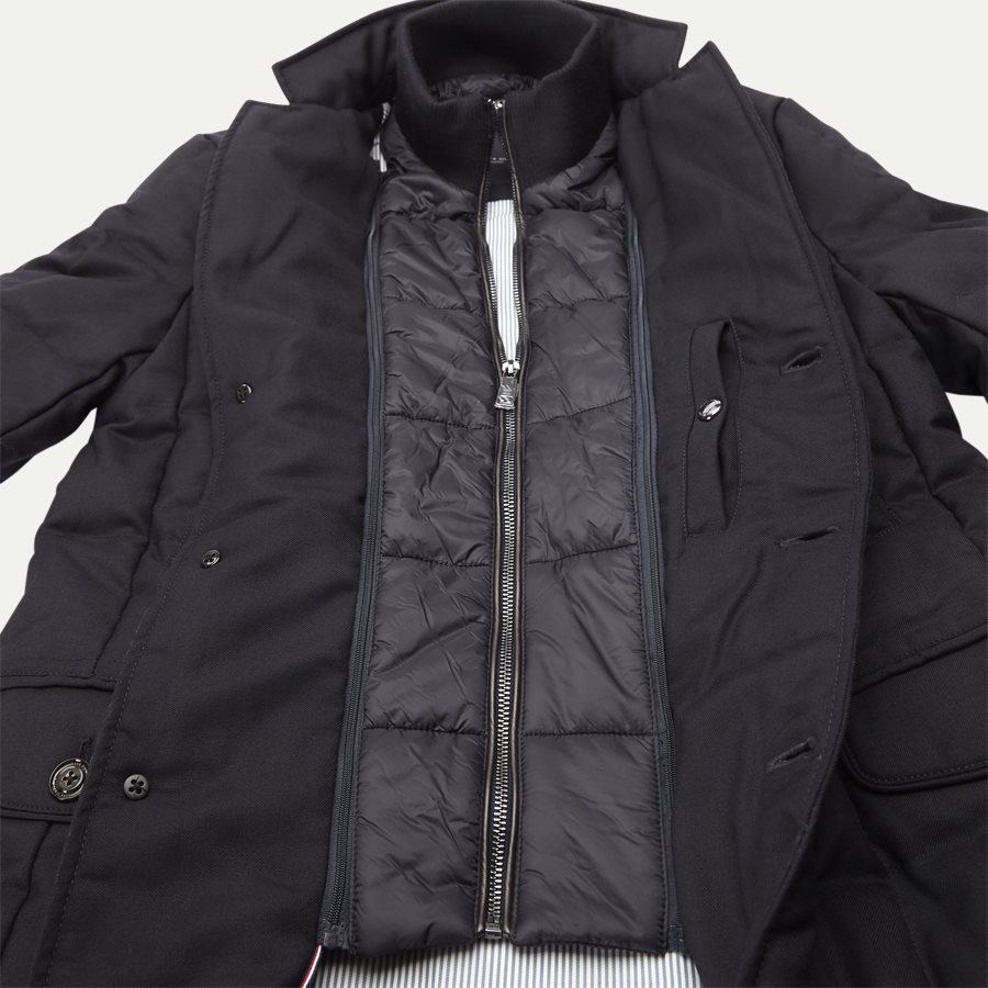 QUILTED DOWN COAT - Quilted Down Coat - Jakker - Tailored fit - NAVY - 7