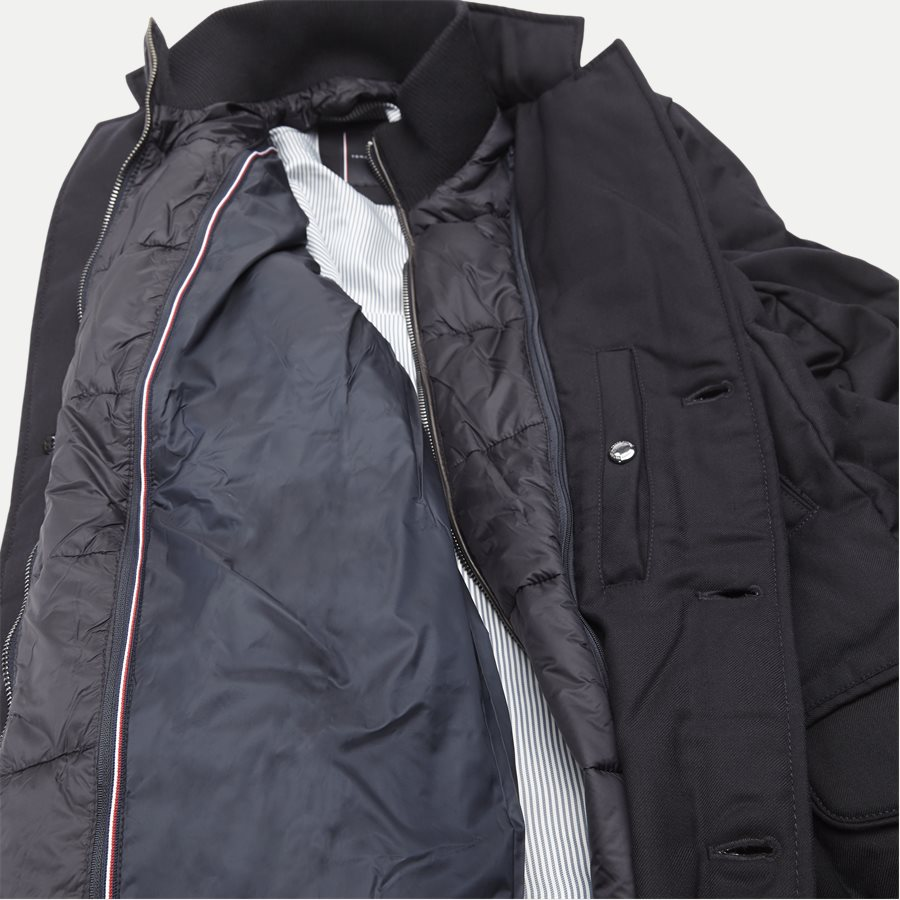 QUILTED DOWN COAT - Quilted Down Coat - Jakker - Tailored fit - NAVY - 10