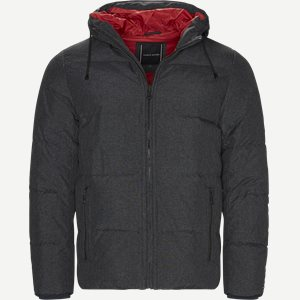 Structure Nylon Down Bomber Regular | Structure Nylon Down Bomber | Grå