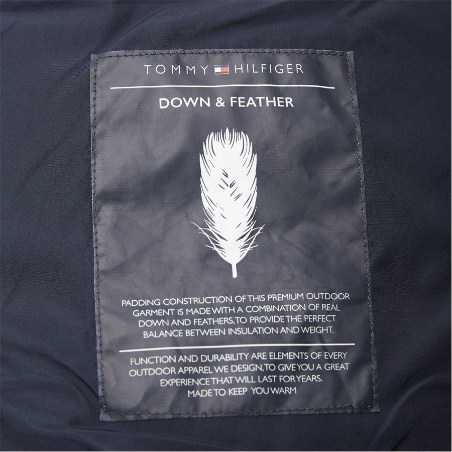 TOMMY DOWN HOODED BOMBER - Down Hooded Bomber Jacket - Jakker - Regular - GRØN - 11