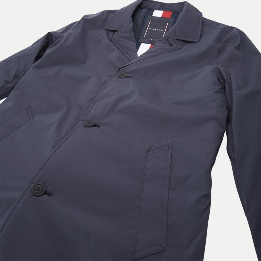 PADDED NYLON MAC - Padded Mac Vindjakke - Jakker - Regular - NAVY - 6