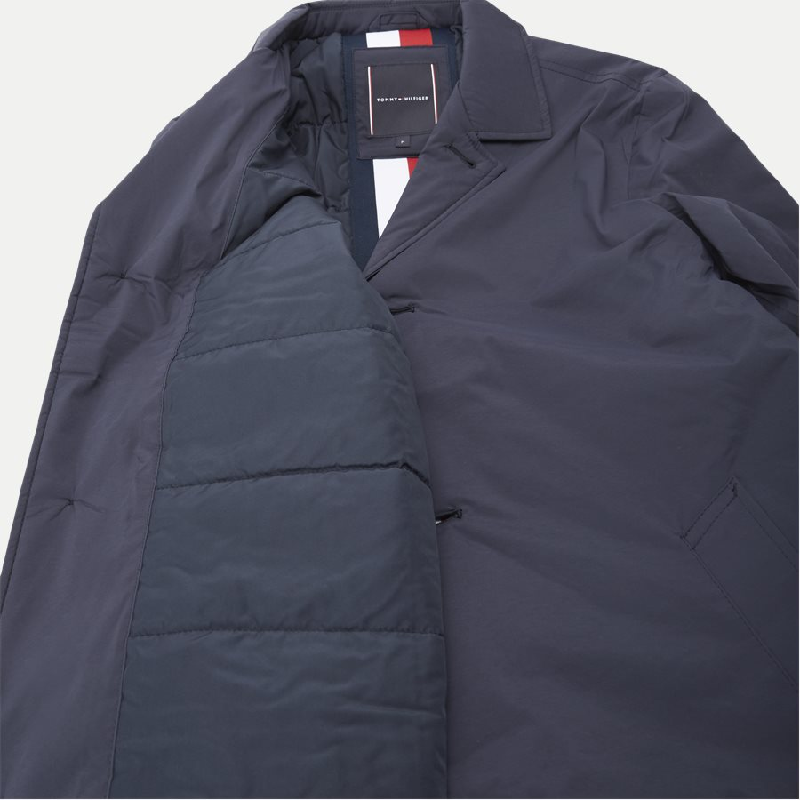 PADDED NYLON MAC - Padded Mac Vindjakke - Jakker - Regular - NAVY - 9