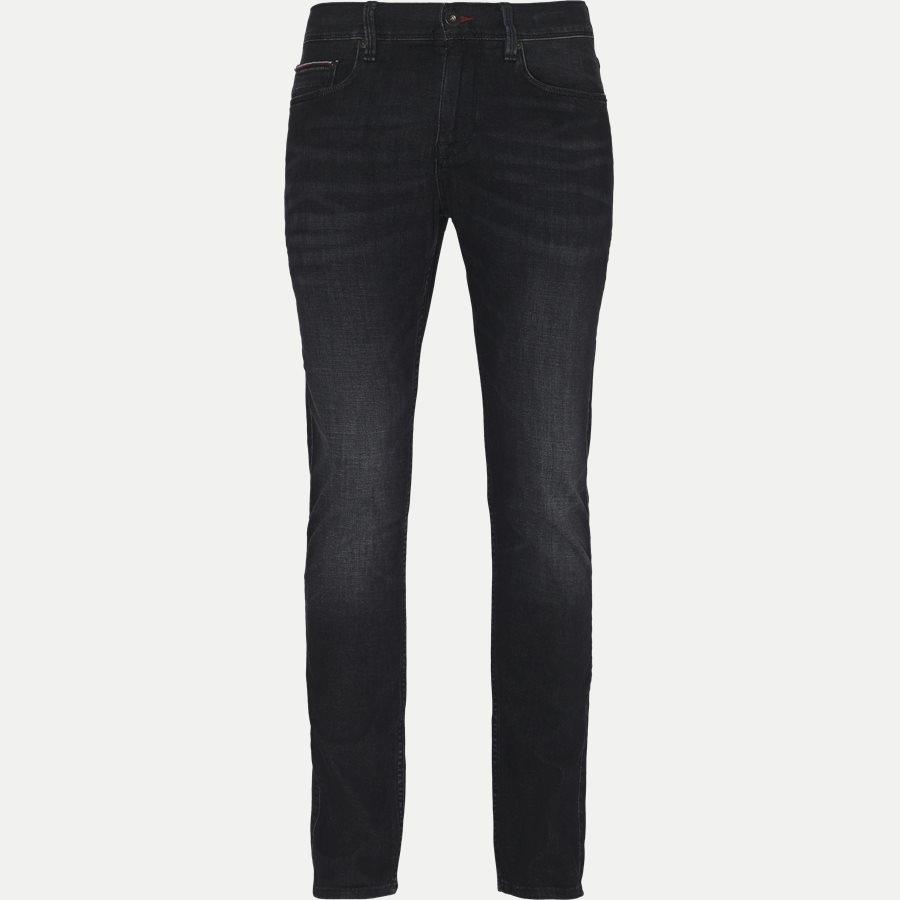 LAYTON STR FLAX BLACK - Layton Flax Jeans - Jeans - Ekstra slim fit - GRÅ - 1