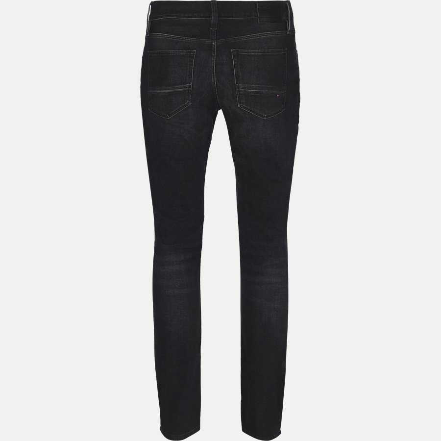 LAYTON STR FLAX BLACK - Layton Flax Jeans - Jeans - Ekstra slim fit - GRÅ - 3