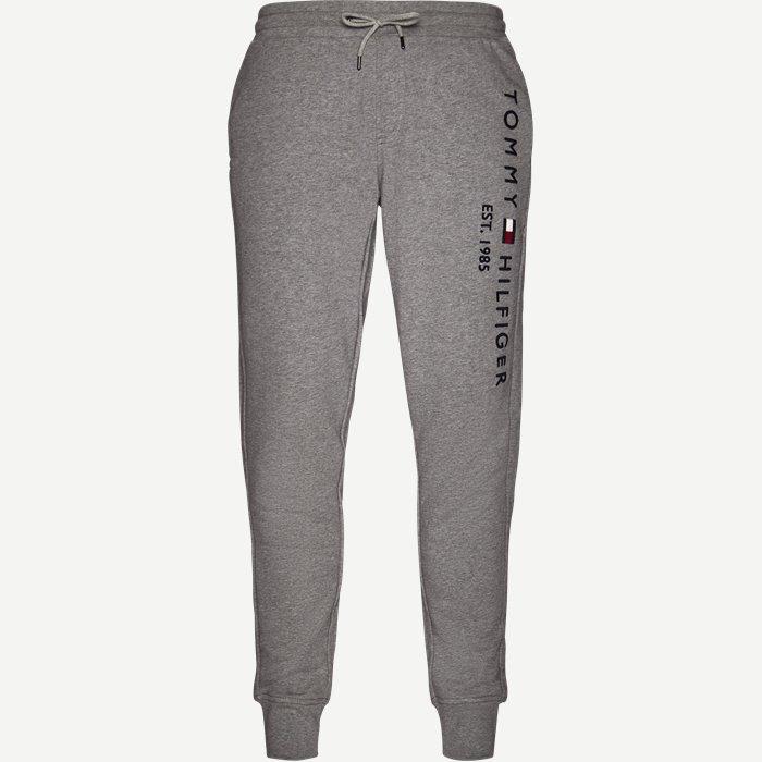 Basic Branded Sweatpants - Bukser - Regular - Grå