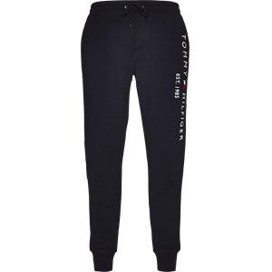 Basic Branded Sweatpants Regular | Basic Branded Sweatpants | Blå