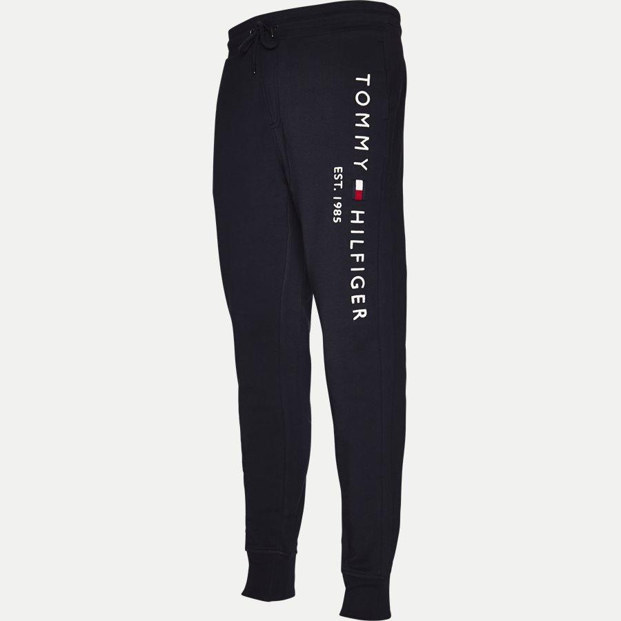BASIC BRANDED SWEAT PANTS - Basic Branded Sweatpants - Bukser - Regular - NAVY - 4