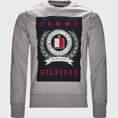 Crest Sweatshirt Regular | Crest Sweatshirt | Grå
