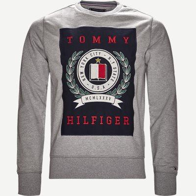 Crest Sweatshirt Regular   Crest Sweatshirt   Grå