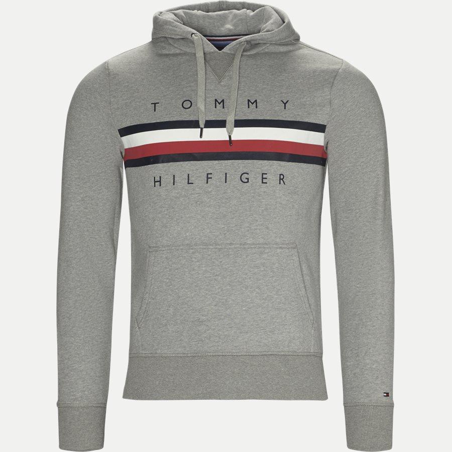 LOGO HOODY - Logo Hoodie - Sweatshirts - Regular - GRÅ - 1