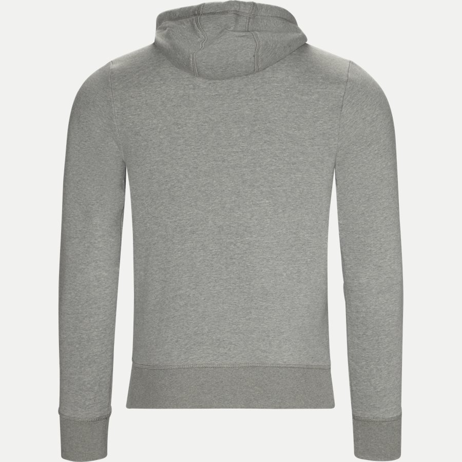 LOGO HOODY - Logo Hoodie - Sweatshirts - Regular - GRÅ - 2