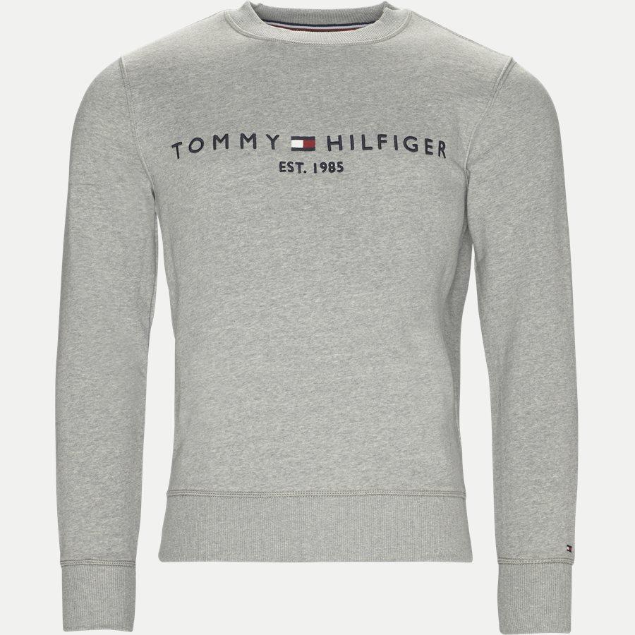 LOGO SWEAT - Logo Sweatshirt - Sweatshirts - Regular - GRÅ - 1