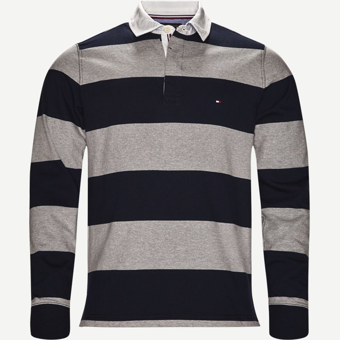 Iconic Block Stripe Sweatshirt - Sweatshirts - Regular - Blå