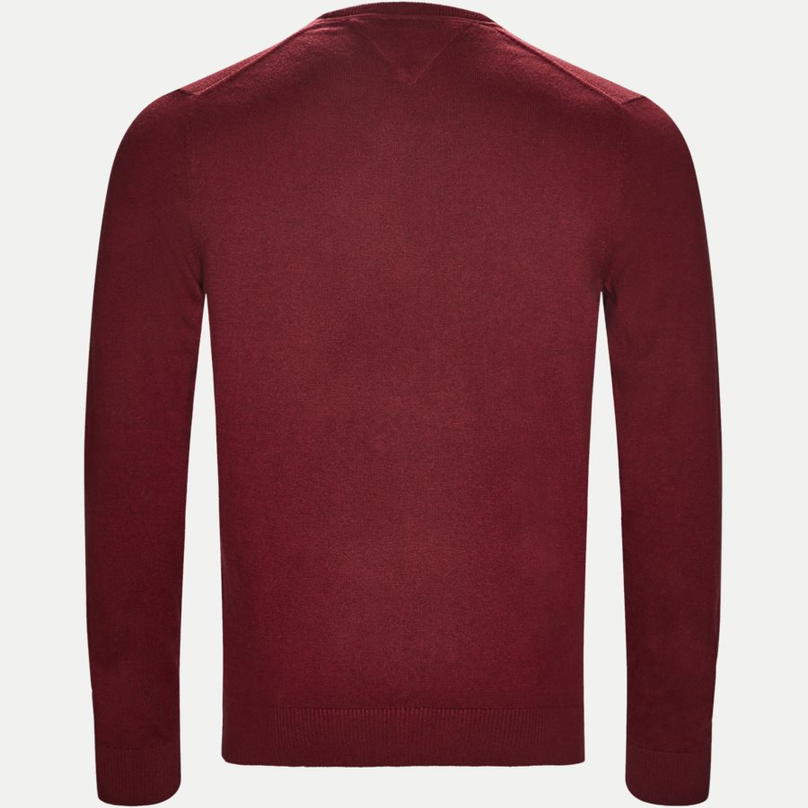 PIMA COTTON CASHMERE CNECK - Pima Cotton Cashmere Crew Neck - Strik - Regular - BORDEAUX - 2