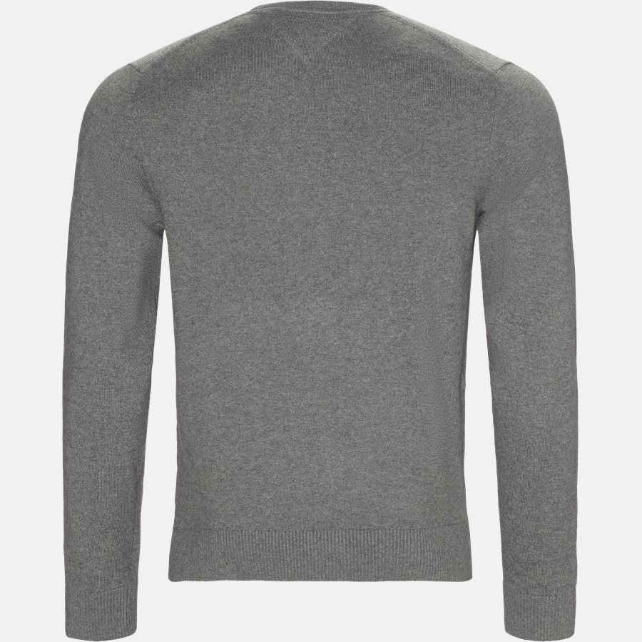 PIMA COTTON CASHMERE CNECK - Pima Cotton Cashmere Crew Neck - Strik - Regular - GRÅ - 2