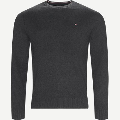 Pima Cotton Cashmere Crew Neck Regular | Pima Cotton Cashmere Crew Neck | Grå
