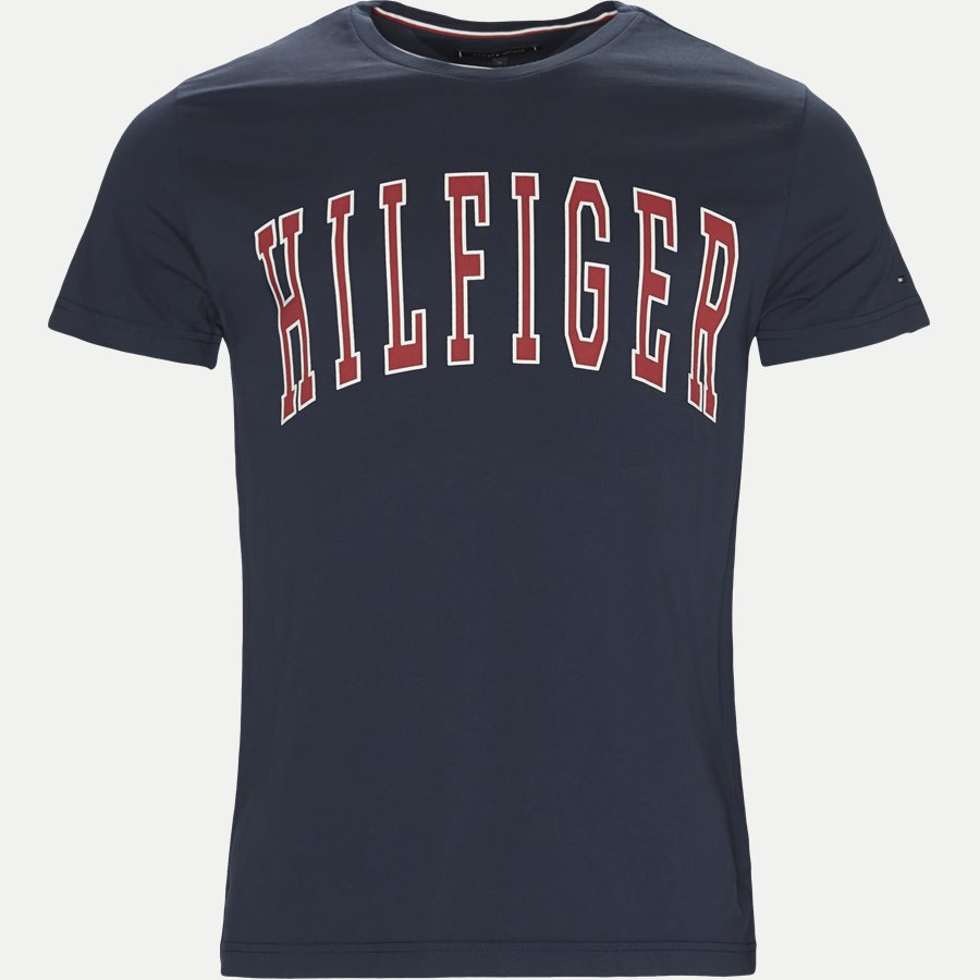 COLLEGE LOGO TEE - College Logo Tee - T-shirts - Regular - NAVY - 1