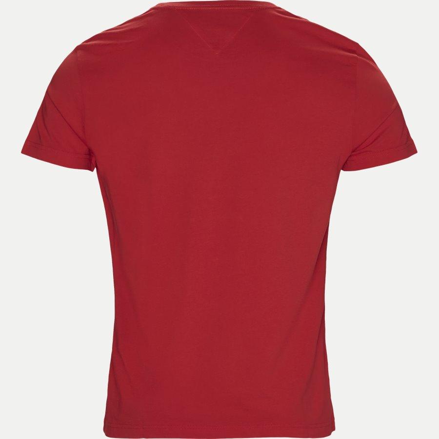 COLLEGE LOGO TEE - College Logo Tee - T-shirts - Regular - RØD - 2