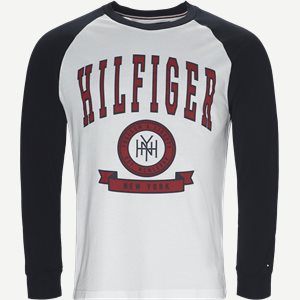 Contrast Raglan Long Sleeve Tee Regular | Contrast Raglan Long Sleeve Tee | Blå