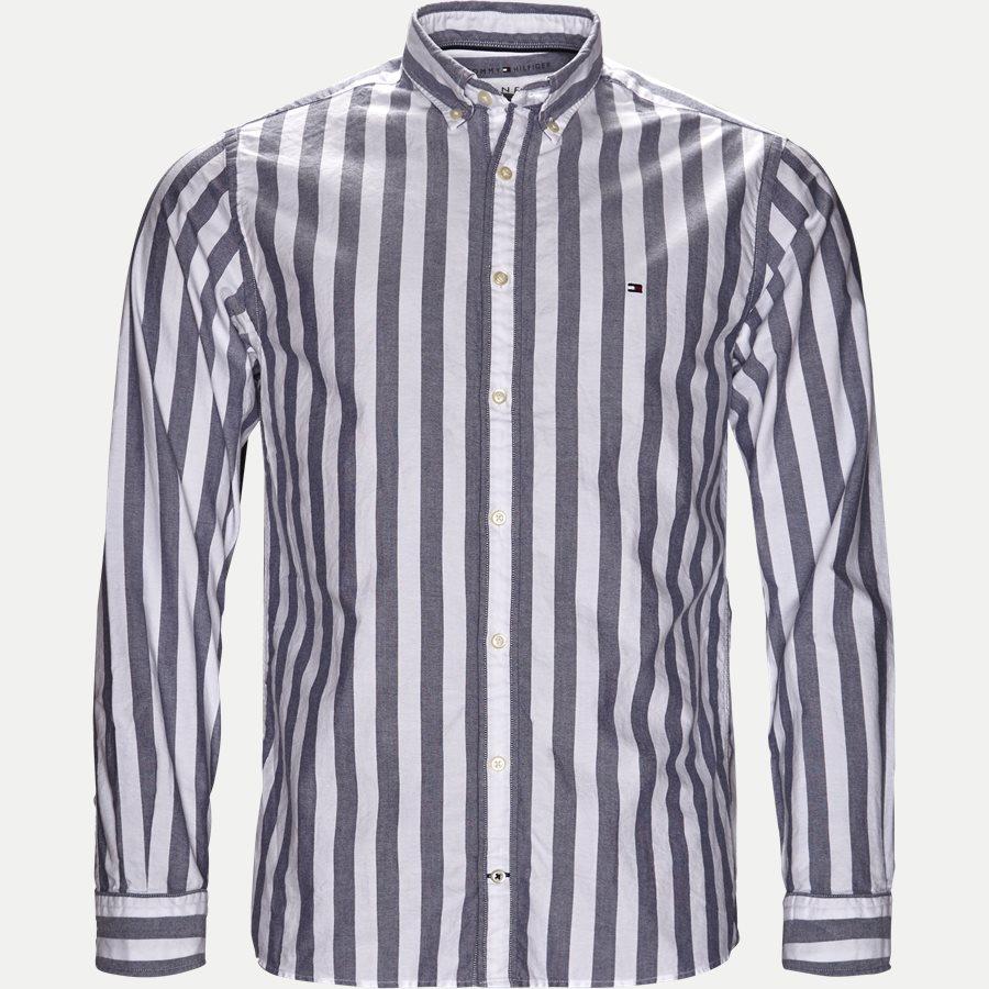 ENGENEERED STRIPED SHIRT - Engeneered Striped Oxford Shirt - Skjorter - BLÅ - 1