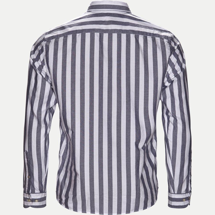 ENGENEERED STRIPED SHIRT - Engeneered Striped Oxford Shirt - Skjorter - BLÅ - 2