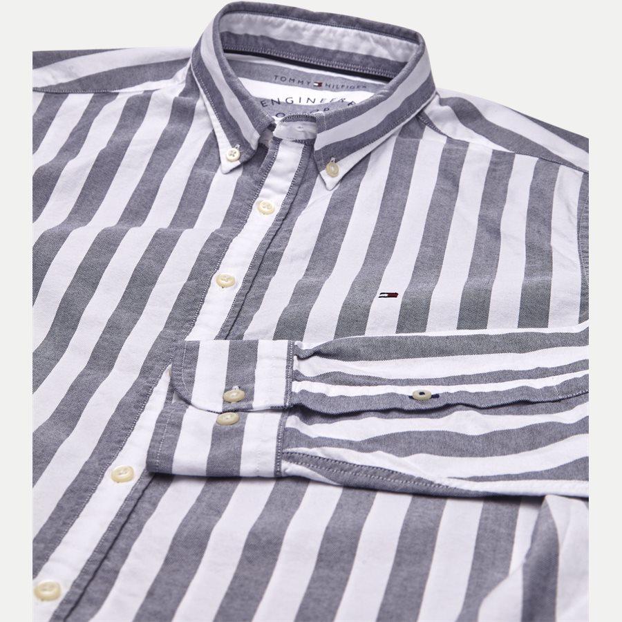 ENGENEERED STRIPED SHIRT - Engeneered Striped Oxford Shirt - Skjorter - BLÅ - 3