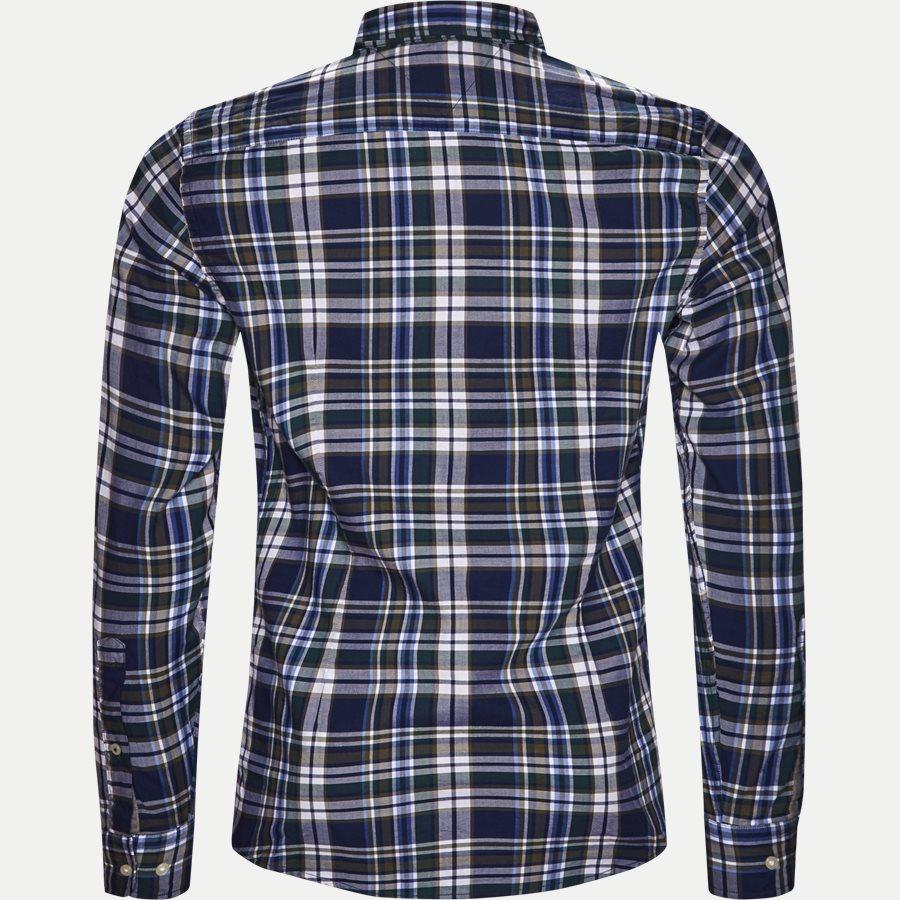 SLIM MUTICOLOR CHECK SHIRT - Multicolor Check Shirt - Skjorter - Slim - BLÅ - 2