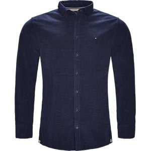 Heather Corduroy Shirt Regular | Heather Corduroy Shirt | Blå