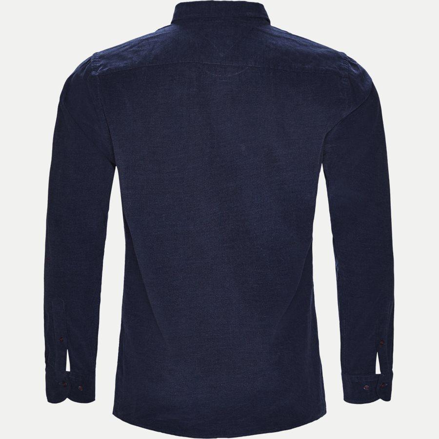 HEATHER CORDUROY SHIRT - Heather Corduroy Shirt - Skjorter - Regular - NAVY - 2