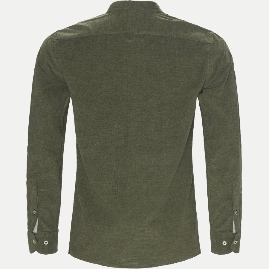 HEATHER CORDUROY SHIRT - Heather Corduroy Shirt - Skjorter - Regular - OLIVEN - 2