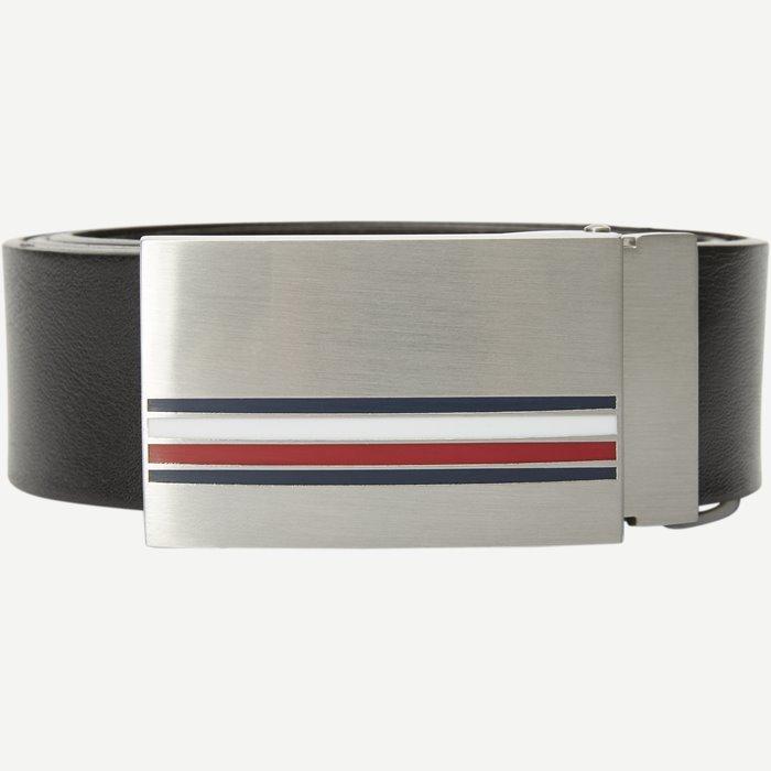 Corporate Plaque Belt - Bælter - Sort