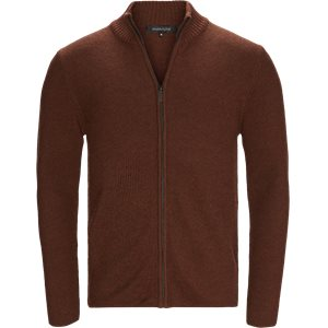 Ziggy Cardigan Strik Regular | Ziggy Cardigan Strik | Rød