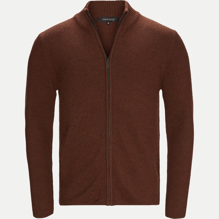 ZIGGY - Ziggy Cardigan Strik - Strik - Regular - rust - 1