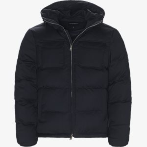 Wool Down Jacket Regular | Wool Down Jacket | Blå