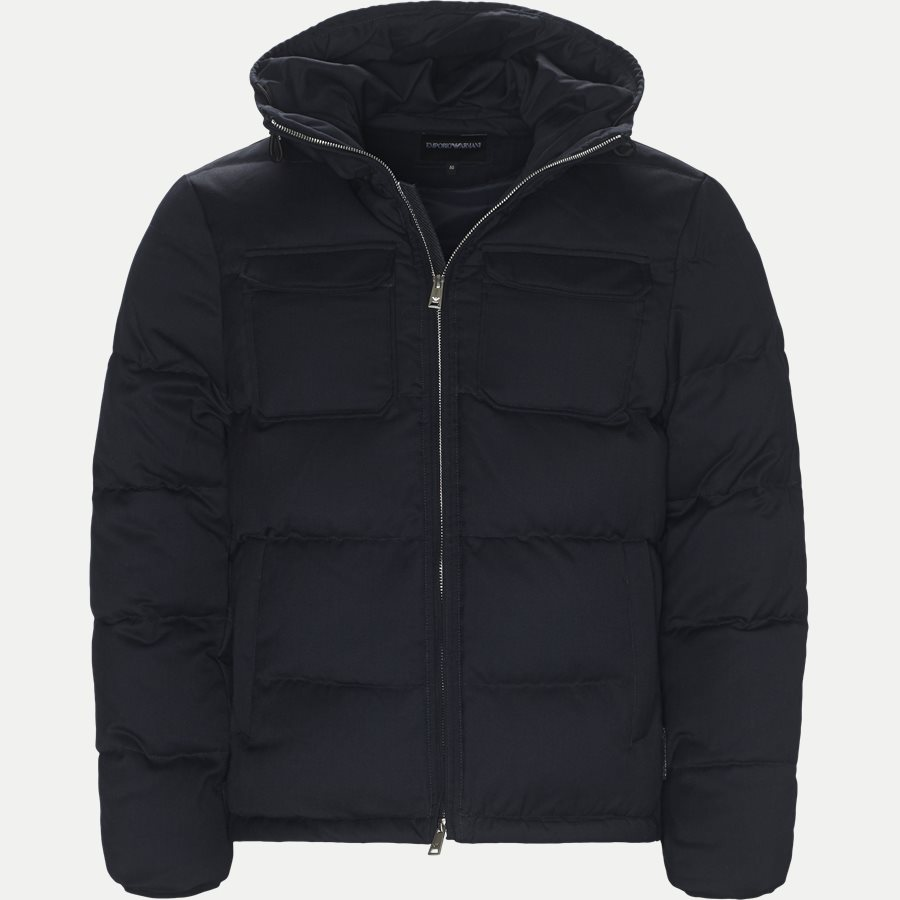 6Z1B67 1NUBZ - Wool Down Jacket - Jakker - Regular - NAVY - 1