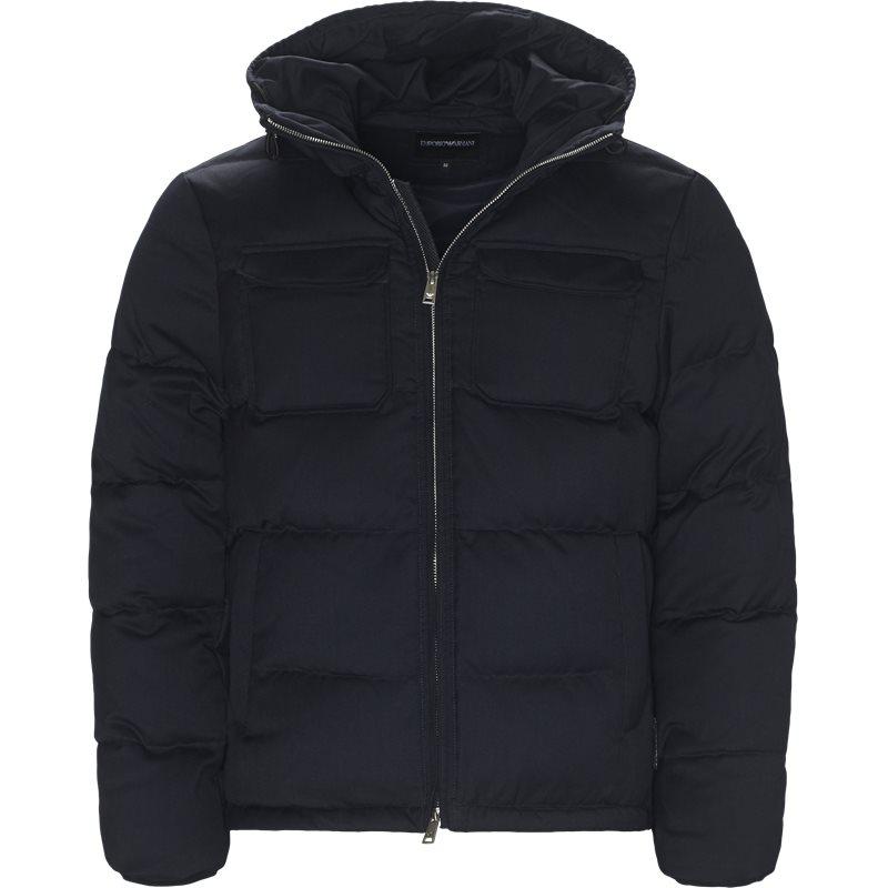 armani jeans Armani jeans - wool down jacket på kaufmann.dk