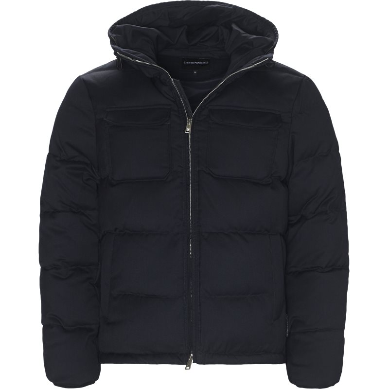 armani jeans Armani jeans - wool down jacket fra kaufmann.dk