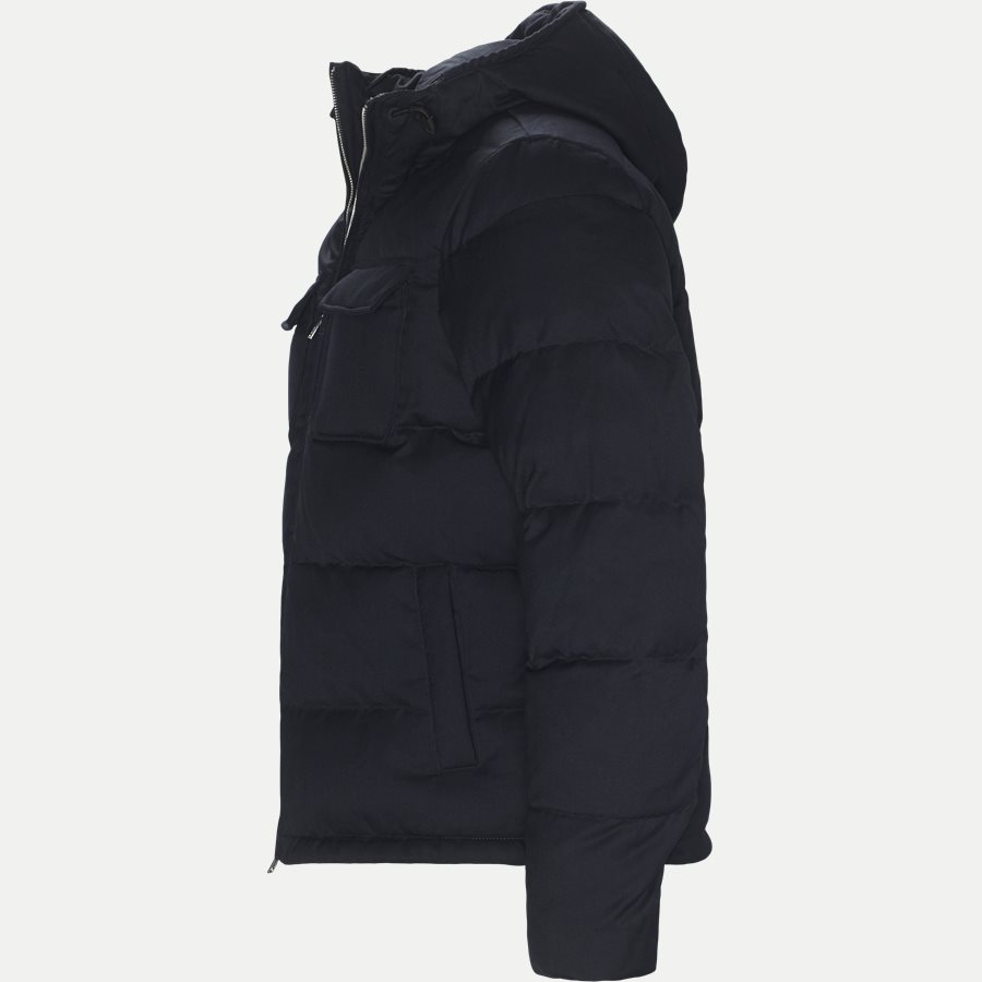 6Z1B67 1NUBZ - Wool Down Jacket - Jakker - Regular - NAVY - 3
