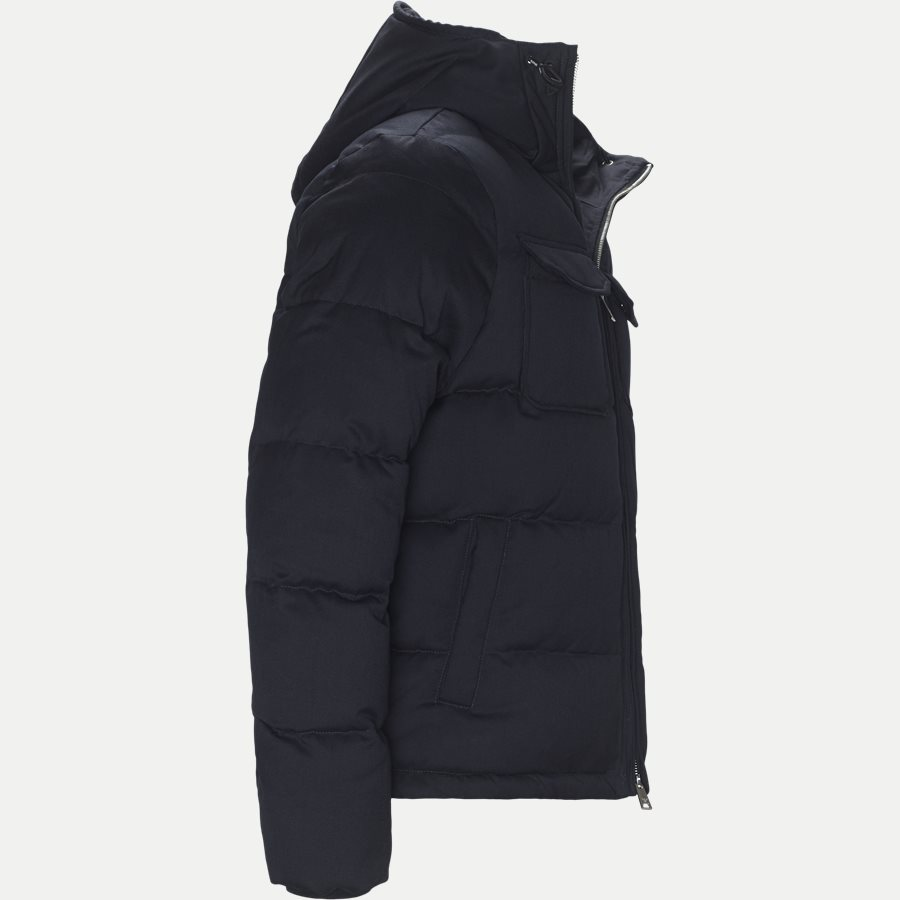 6Z1B67 1NUBZ - Wool Down Jacket - Jakker - Regular - NAVY - 4