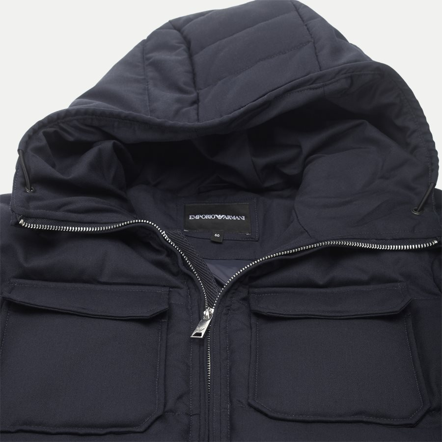 6Z1B67 1NUBZ - Wool Down Jacket - Jakker - Regular - NAVY - 5