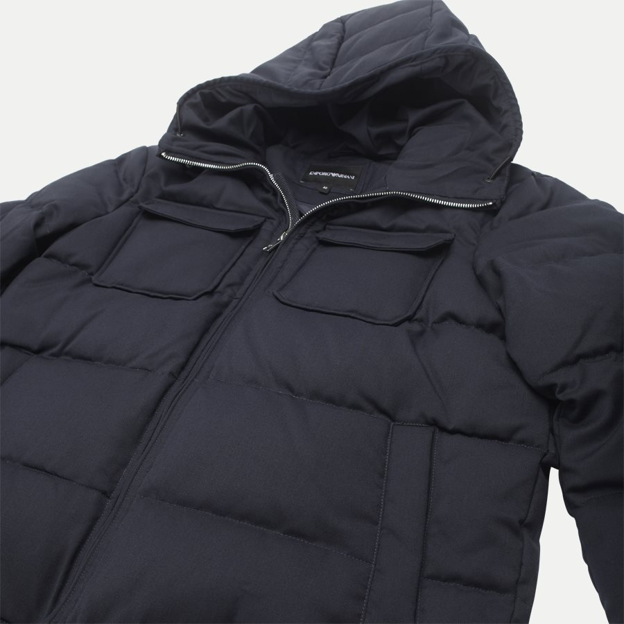 6Z1B67 1NUBZ - Wool Down Jacket - Jakker - Regular - NAVY - 6