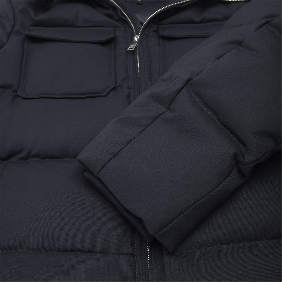 6Z1B67 1NUBZ - Wool Down Jacket - Jakker - Regular - NAVY - 7