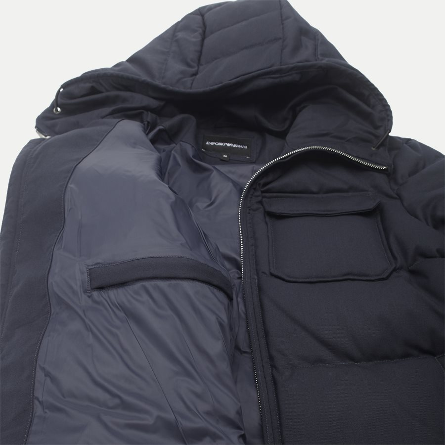6Z1B67 1NUBZ - Wool Down Jacket - Jakker - Regular - NAVY - 9