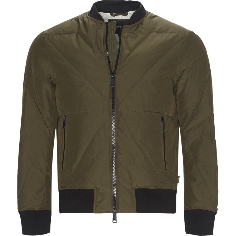armani jeans Armani jeans - down bomber jacket fra kaufmann.dk
